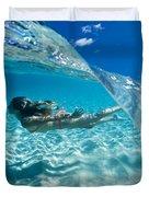 Aqua Dive Duvet Cover