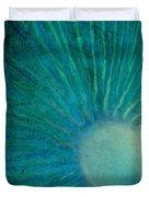 Aqua Gills Duvet Cover