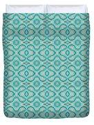 Aqua X Arrangement Duvet Cover