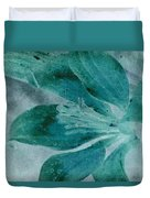 Aqualily Duvet Cover