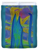 Aquarius By Jrr Duvet Cover
