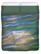 Aquatic Motion Duvet Cover