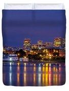 Aquatic Park Blue Hour Duvet Cover