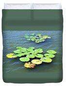 Aquatic Plants Duvet Cover