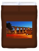 Aqueduct Of The Free Waters Duvet Cover