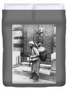 Arab Waterboy, C1900 Duvet Cover