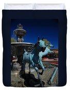 Arabian Horse Sculpture Duvet Cover