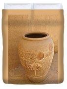 Arabian Pottery Duvet Cover