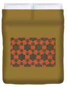 Arabic Decorative Design Duvet Cover