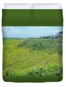 Aransas Nwr Coastal Grasses Duvet Cover