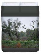Aransas Nwr Landscape Duvet Cover