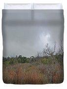 Aransas Nwr Texas Coastland Duvet Cover