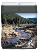 Arapaho National Forest Duvet Cover