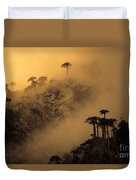 Araucaria Dawn Chile Duvet Cover