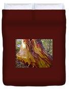 Arbutus Tree Trunk Duvet Cover