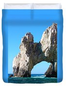 Arch At Land's End Duvet Cover