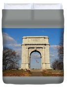 Arch At Valley Forge Duvet Cover