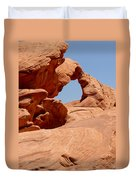 Arch At Valley Of Fire State Park Duvet Cover