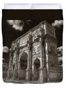 Arch Of Constantine Duvet Cover
