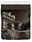 Arch Of Titus Duvet Cover