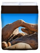 Arch Rock - Joshua Tree National Park  Duvet Cover