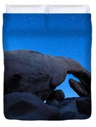 Arch Rock Starry Night 2 Duvet Cover