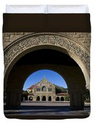 Arch To Memorial Church Stanford California Duvet Cover
