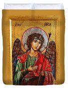 Archangel Michael Icon Duvet Cover