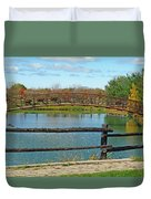 Arched Bridge Duvet Cover