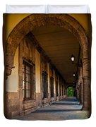 Arched Corridor Duvet Cover