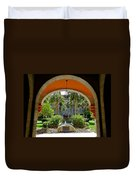 Arched Courtyard Duvet Cover