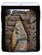 Arched Medieval Gate Duvet Cover