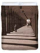 Arched Walk Way       Duvet Cover