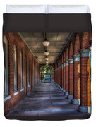 Arches And Columns Duvet Cover