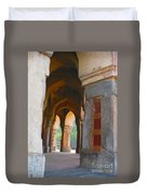 Arches At Red Fort Duvet Cover