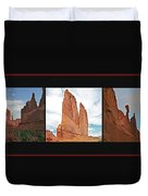 Arches National Park Panel Duvet Cover