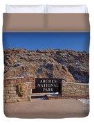 Arches National Park Utah Duvet Cover