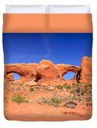 Arches Windows Duvet Cover