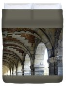 Architectural Artwork At Place De Vosges Duvet Cover