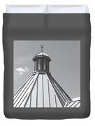 Architectural Gray Duvet Cover
