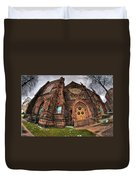Architecture And Places In The Q.c. Series 03 Trinity Episcopal Church Duvet Cover