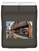 Architecture And Places In The Q.c. Series Bacchus Restaurant Duvet Cover