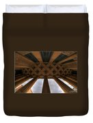 Architecture And Places In The Q.c. Series City Hall Duvet Cover