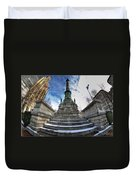 Architecture And Places In The Q.c. Series  Soldiers And Sailors Monument In Lafayette Square Duvet Cover