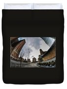 Architecture And Places In The Q.c. Series War Of Architecture  Duvet Cover