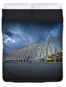 architecture by Calatrava Duvet Cover