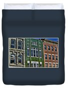 Architecture - Early City Buildings - Luther Fine Art Duvet Cover