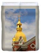Architecture - Golden Cross Duvet Cover