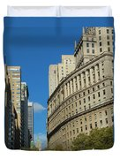 Architecture In New York City Duvet Cover
