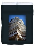 Architecture In The Morgan County Court House Duvet Cover